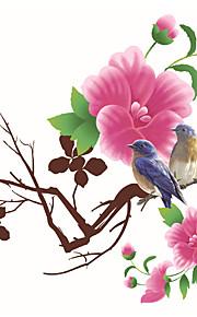Animali / Moda / Paesaggio Adesivi murali Adesivi aereo da parete Adesivi decorativi da parete,PVC MaterialeLavabile / Rimovibile /