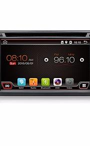 4 core 2 din 6.2''android 4.4 lettore DVD dell'automobile gps radio stereo auto navi in Dash 3G wifi bt giocatore universale