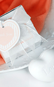 White Heart Soap Bridesmaids Shower Beter Gifts®  Bridal Wedding Favors
