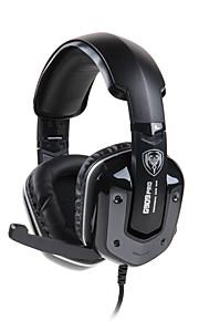 Somic G909PRO Høretelefoner (Pandebånd)ForComputerWithMed Mikrofon / DJ / Lydstyrke Kontrol / Gaming / Lyd-annulerende