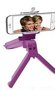 den nye multifunktionelle tredobbelte selvudløser ramme folde stativ med selv-tablet holder telefonholder klip