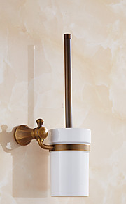 Wc-harjateline / Kylpyhuoneen laitteet / Antiikkinen messinki / Seinään asennettu /7.7*4.9*14.96 inch /Messinki /Antiikkinen /19.5cm