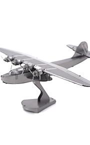 Rompecabezas juguete de la novedad / Puzzles de Metal Bloques de construcción Juguetes de bricolaje Aeronave 1 Metal PlataModelismo y