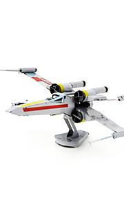 Rompecabezas juguete de la novedad / Puzzles de Metal Bloques de construcción Juguetes de bricolaje Aeronave 1 Metal Arco irisModelismo y