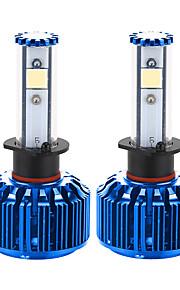 liancheng® 60w 6000lm 9 ~ 32V hoge helderheid Cree cob leidde koplamp kit-h1 6k 8k voor auto, off-road, utv, atv