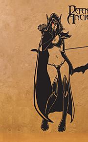 60*40Cm  Dota Sticker Traxex Internet Cafes Decoration Poster Pretty Girl Wall Sticker