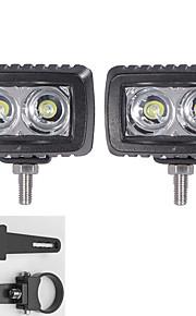 2x geleid cree lichtbalken suv atv 4 * 4 voertuigen offroad met een paar 1,75 inch montagebeugels