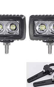 2x geleid cree lichtbalken suv 4wd 4 * 4 voertuigen offroad met een paar 2 inch montagebeugels