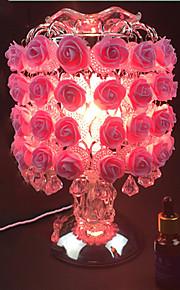 1pc roser bordlampe berøringsfølsomme plug-in el sød lampe aing slags bryllup festival gave