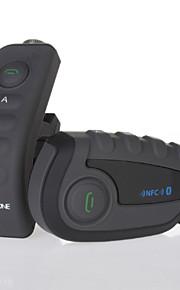 V8-1200m 5 Riders Motorcycle Bluetooth Helmet Intercom w/ NFC