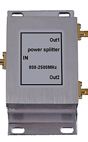 2-Way SMA-Type Power Divider Splitter 800-2500MHz for Mobile Phone Signal Booster Repeater