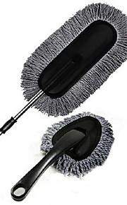 grå 2 stk voks børste voks trailere optrækkelige nanotråde vask duster
