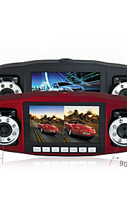 reizen data recorder / dual lens / hd nachtzicht / rijden recorder / auto-interieur