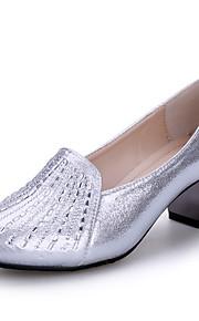 Sapatos de Dança(Preto / Prateado / Dourado) -Feminino-Não Personalizável-Moderna