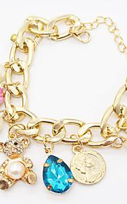 Chaînes & Bracelets / Charmes pour Bracelets 1pc,A la Mode / Vintage / Bohemia style / Adorable / PersonnalitéForme Ronde / Forme