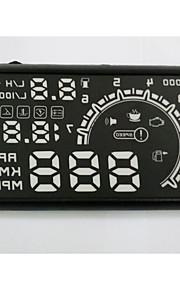 hud display bil hud head up display bil hud bil styling advarsel hastighedsoverskridelser systemet god kvalitet 5,5 tommer OBD2-interface