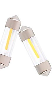 10st 31mm / 36mm / 39mm / 41mm cob lezen / kentekenplaat licht LED lamp 12v dc