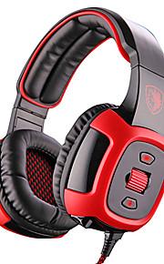 Sades SA-906i Hoofdtelefoons (hoofdband)ForMediaspeler/tablet / ComputerWithmet microfoon / DJ / Volume Controle / FM Radio / Gaming /