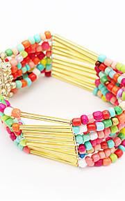 Chaînes & Bracelets / Charmes pour Bracelets / Bracelets de rive 1pc,Couche double / A la Mode / Vintage / Bohemia style / Croix /