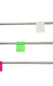 Barra para Toalha / Aço Inoxidável / De Parede /60.5*5*5cm /Aço Inoxidável / PVC /Contemporâneo /60.5cm 5cm 0.14