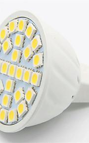 5W GU10 / GX5.3 Spot LED MR16 29 SMD 5050 500LM lm Blanc Chaud / Blanc Froid Décorative AC 100-240 V 1 pièce