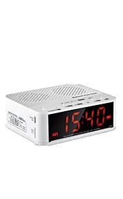 cmpick draadloze bluetooth speaker thuis bed mini audio wekkerradio draagbare auto hands-free car geluidskaart