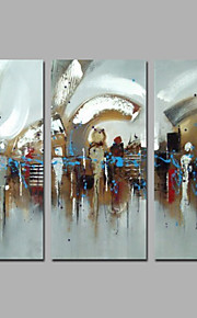 IARTS Modern Abstract 3 Sets Art Canvas Stretchered Paintings Home Decor