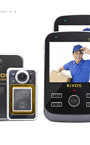 30W像素 170° CMOS deurbelsysteem Draadloos Gefotografeerd / Opname