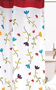 Современный Полиэфирно-льняная ткань 1.8*2M  -  Высокое качество Шторка для ванной