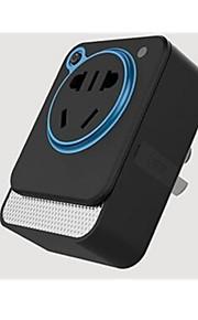 Smart socket Con filo Others Wifi wireless remote control Nero / Bianco