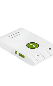 Headset Bluetooth for Smartphones Multipoint Wireless Sun Visor Handsfree Bluetooth Car Kit Speakerphone