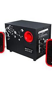 g10 elsker at sætte multimedie 2.1 lydboks træ tung bas pistol desktop spil filmlyd