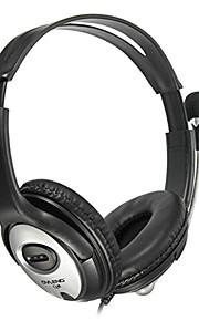 OVLENG Q2 Hoofdtelefoons (hoofdband)ForMediaspeler/tablet / Mobiele telefoon / ComputerWithmet microfoon / DJ / Volume Controle / Gaming
