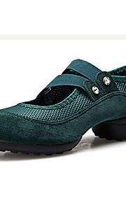 Sapatos de Dança(Preto / Verde / Vermelho) -Feminino-Não Personalizável-Tênis de Dança / Moderna