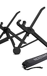 Bureau Macbook / andere Tablet / andere Laptop Laptop Zwart Verstelbare standaard Polycarbonaat