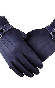 guanti dello schermo di tocco di cuoio di sport esterni guanti di pelle moto elettrica imitazione