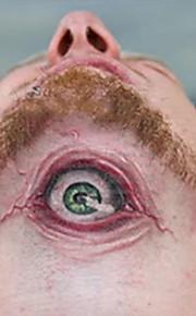 5pcs Hot Halloween Makeup Decoration Costume Terrorist Eyes Temporary Tattoos