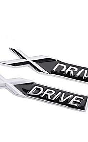 kirsite xDrive logo rimorchio adesivo vettura modificata