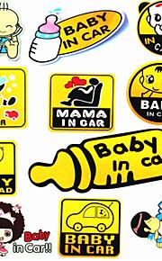 bambino in auto riflettente adesivi auto per bambini adesivi per auto adesivi per auto adesivi per auto mama bambino mousse