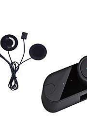 motorcykel bluetooth hjelm stereo hovedtelefoner vandtæt bt Trådløs Bluetooth headsets motorcykelhjelme blød ørestykket