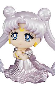 Sailor Moon Princess Serenity PVC 6cm Anime Action Figurer Modell Leker Doll Toy