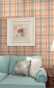 Modern Plain Printed Lattice Pattern Wallpaper Roll Kids Room Bedroom Decor Wall Covering Wallpapers