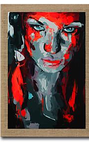 Pintada a mano Abstracto / Paisaje / Personas / Naturaleza muerta / Fantasía / Retratos Abstractos Pinturas de óleo,Modern / Estilo