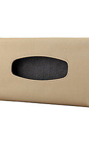 bil uden for køkkenrulle kasse med maske bil high-grade læder sundhed væv boks sæt