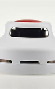 détecteur de fumée à double mode d'alarme de lumière dôme rouge et détecteur de fumée très sensible