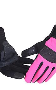Guantes Deportivos Ciclismo/Bicicleta Todo Dedos completos A prueba de resbalones / Secado rápido / Resistente a rayos UV Otoño / Invierno