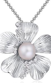 Colliers Tendance Pendentif de collier Bijoux Quotidien A la Mode Alliage Argent 1pc Cadeau