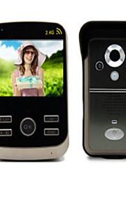 30W 120 CMOS deurbelsysteem Draadloos Meergezins video deurbel