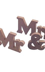 Marque-place(Chocolat,Bois Non personnalisé 3