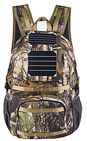 40L L mochila Acampada y Senderismo / Escalar Al Aire Libre Listo para vestir / Panel Solar / Mochilas para Laptops Camuflaje Nilón BY